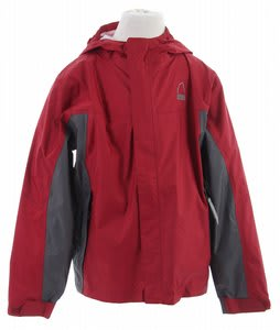 Sierra Designs Hurricane Shell Jacket Crimson