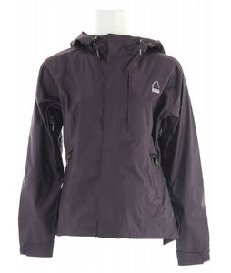 Sierra Designs Hurricane Rain Jacket Eggplant