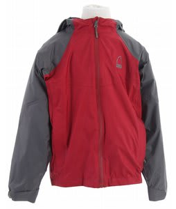 Sierra Designs Hurricane Accelerator Shell Jacket Crimson
