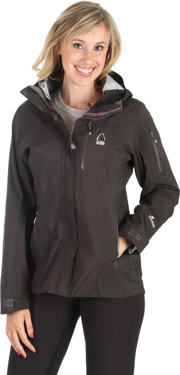 Shop for Sierra Designs Rad Shell Jacket Black - Women's