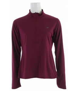 Sierra Designs Trainer Mock 1/4 Zip Shirt Radish
