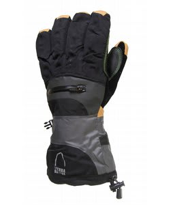 Sierra Designs Enforcer Gloves Black/Charcoal