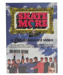 Skate More Skateboard DVD