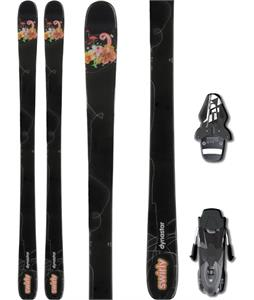 Dynastar Swirly Skis w / Fischer RS10绑带