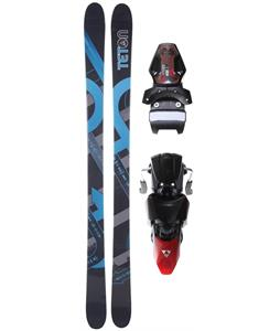 Teton Rendevous Rocker V2 Skis w/ Tyrolia SL100 Ski Bindings