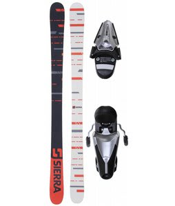 Sierra TT2 Camrock Skis w/ Tyrolia SL100 Ski Bindings