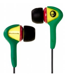 Skullcandy Smokin Buds Ear Buds Rasta
