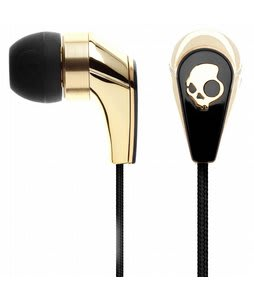 Skullcandy 50/50 w/ Mic 3 Ear Buds Gold/Black - Discontinued Model