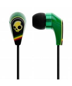 Skullcandy 50/50 w/ Mic 3 Earbuds Rasta