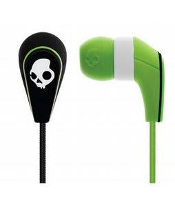 Skullcandy 50/50 Earbuds w/ Mic3 Lurker Green/Black