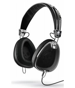 Skullcandy Aviator w/ Mic 3 Headphones Black