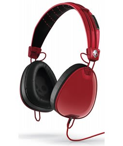 Skullcandy Aviator w/ Mic 3 Headphones Red/Black/Wayfarer