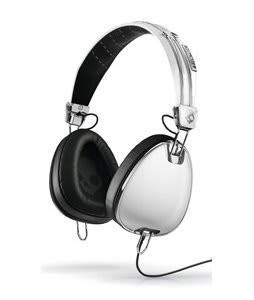 Skullcandy Aviator w/ Mic 3 Headphones White