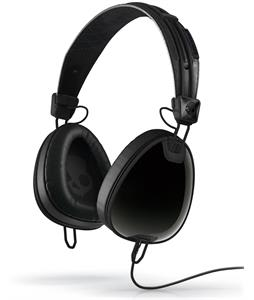 Skullcandy Aviator w/ Mic Headphones Black/Black