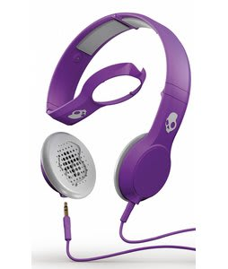 Skullcandy Cassette w/ Mic 1 Headphones Athletic Purple