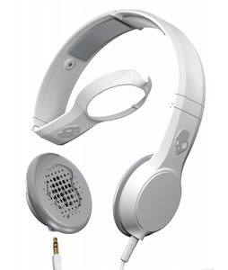 Skullcandy Cassette w/ Mic 1 Headphones Athletic White