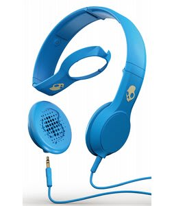 Skullcandy Cassette w/ Mic 1 Headphones Athletic Blue