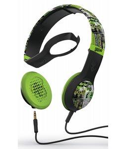 Skullcandy Cassette w/ Mic 1 Headphones Lurker Toxic Flyer