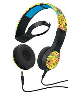 Skullcandy Cassette w/ Mic 1 Headphones Toxic Tune/Black/Black