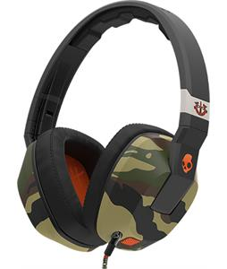 Skullcandy Crusher w/ Mic Headphones Camo/Slate/Orange