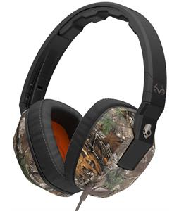 Skullcandy Crusher w/ Mic 1 Headphones Real Tree/Dark Tan/Tan