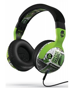 Skullcandy dB Hesh 2.0 w/ Mic 1 Headphones Lurker Toxic Flyer