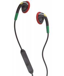 Skullcandy Fix In Ear w/ Mic 3 Earbuds Rasta