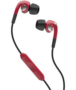 Skullcandy Fix In Ear w/ Mic 3 Earbuds Red/Chrome