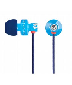 Skullcandy Full Metal Jacket Earbuds w/ Mic Shoe Blue - Discontinued Model