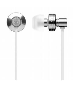Skullcandy FMJ w/ Mic 1 Ear Buds Chrome - Discontinued Model