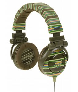 Skulcandy GI Headphones Brown Stripe - Discontinued Model