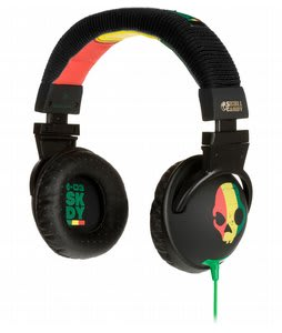 Skullcandy Hesh Headphones Rasta