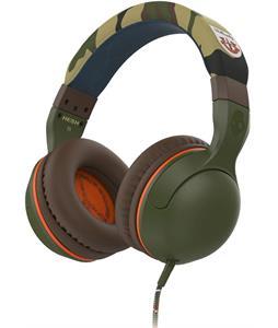 Skullcandy Hesh2 w/ Mic 1 Headphones Camo/Olive/Olive