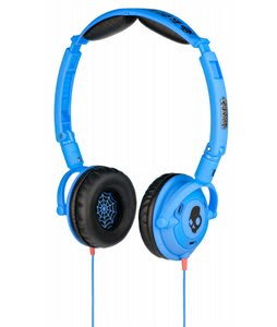 Skullcandy Lowrider Headphones w/ Mic Shoe Blue - Discontinued Model