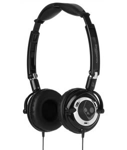 Skullcandy Lowrider w/ Mic Headphones Black/Chrome