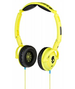 Skullcandy Lowrider Headphones w/ Mic Shoe Yellow - Discontinued Model