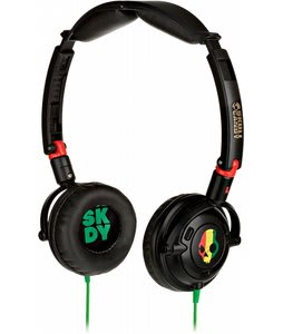 Skullcandy Lowrider Headphones w/ Mic Rasta - Discontinued Model