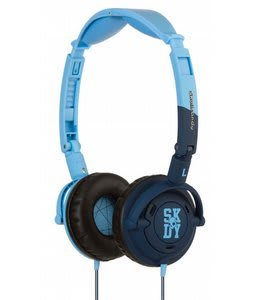 Skullcandy Lowrider Headphones w/ Mic Light Blue/Navy