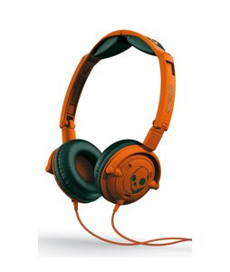 Skullcandy Lowrider w/ Mic 1 Headphones Athletic Orange