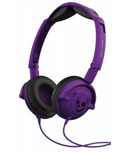 Skullcandy Lowrider w/ Mic 1 Headphones Athletic Purple
