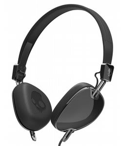 Skullcandy Navigator w/ Mic 3 Headphones Black