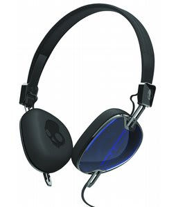 Skullcandy Navigator w/ Mic 3 Headphones Royal Blue/ Black