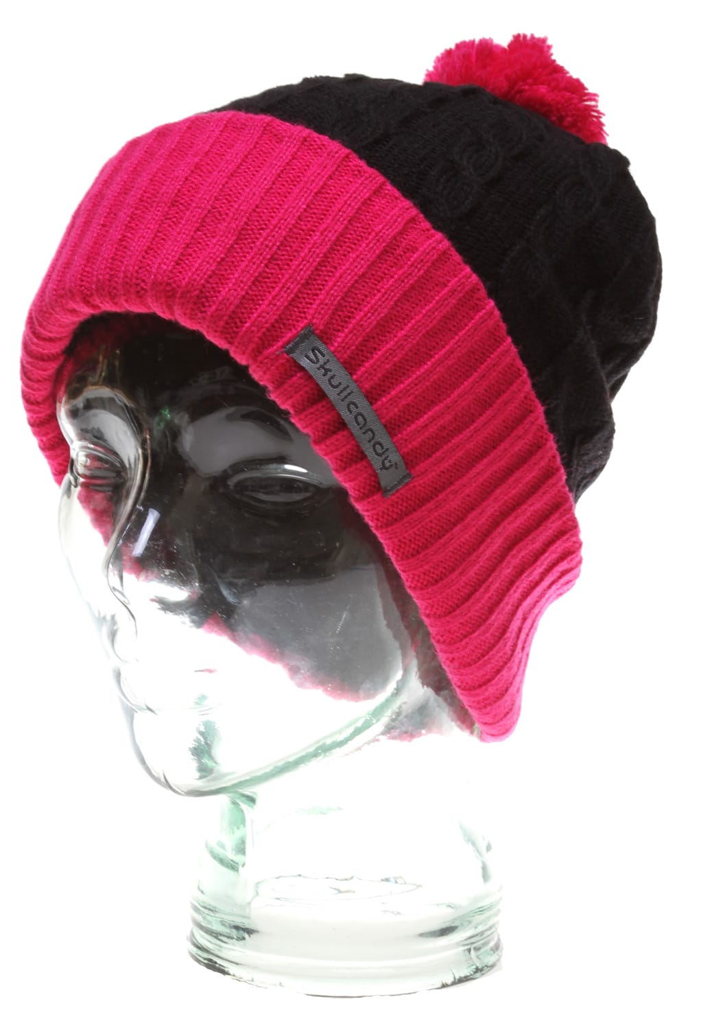 Shop for Skullcandy Orbit Audio Beanie Black Raspberry - Men's