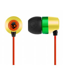 Skullcandy Riot Earbuds Rasta