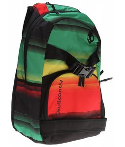 Skullcandy Skulldaylong Audio Backpack Rasta