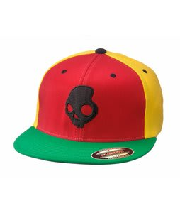 Skullcandy Skullday Long J Fit Cap Rasta
