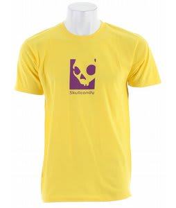 Skullcandy Slim Corpo T-Shirt Yellow