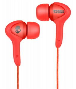 Skullcandy Smokin Buds Earbuds w/ Mic Shoe Red - Discontinued Model