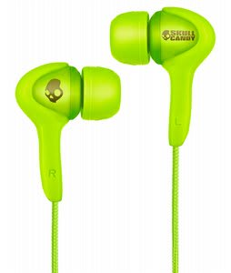 Skullcandy Smokin Buds Earbuds w/ Mic Audiophile Green - Discontinued Model