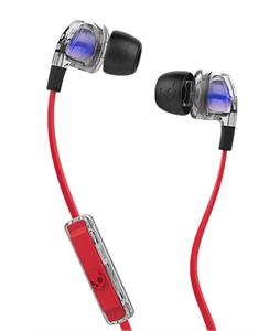 Skullcandy Smokin' Buds 2 Ear Buds Spaced Out/Clear/Black